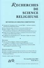 REVISITER LES ORIGINES CHRÉTIENNES