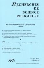 REVISITER LES ORIGINES CHRÉTIENNES (Suite)