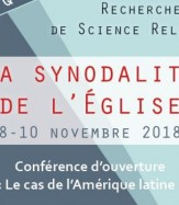 26ème colloque : LA SYNODALITÉ DE L'ÉGLISE
