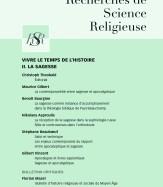 Prochain numéro (15 juillet 2019) «Faire de la théologie dans un christianisme diasporique»