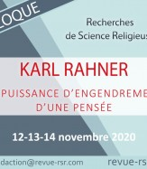27ème colloque : KARL RAHNER